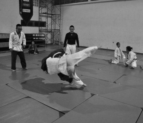 Allenamento al Judo