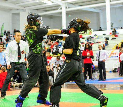 Allenamento al Kick Boxing